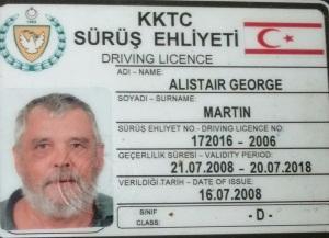 Kibris Driving Licence